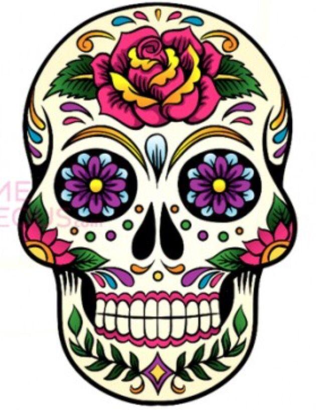 Calavera Mexicana | Tatuajes | Pinterest | Sugar skulls ...