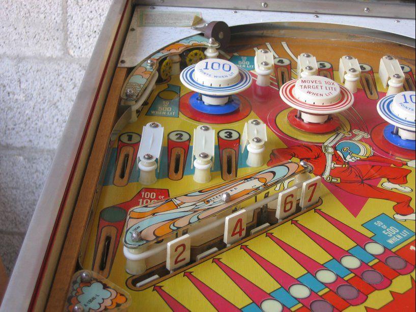 Gottlieb Sky Jump Pinball Machine Google Search Pinball Three