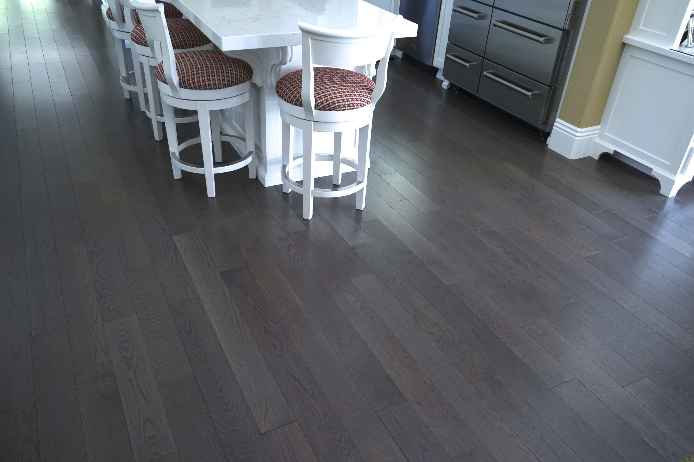 Custom White Oak Danville Gray Prime Style Homerwood