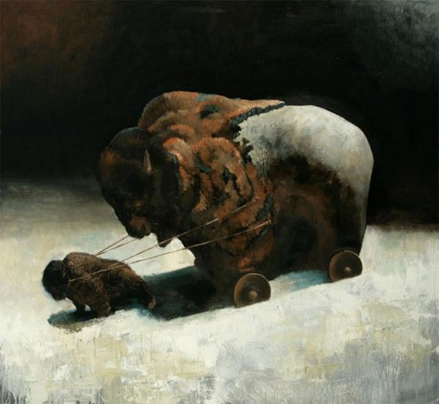 Symbolické maľby bojujú za práva zvierat. – Doba Magazín