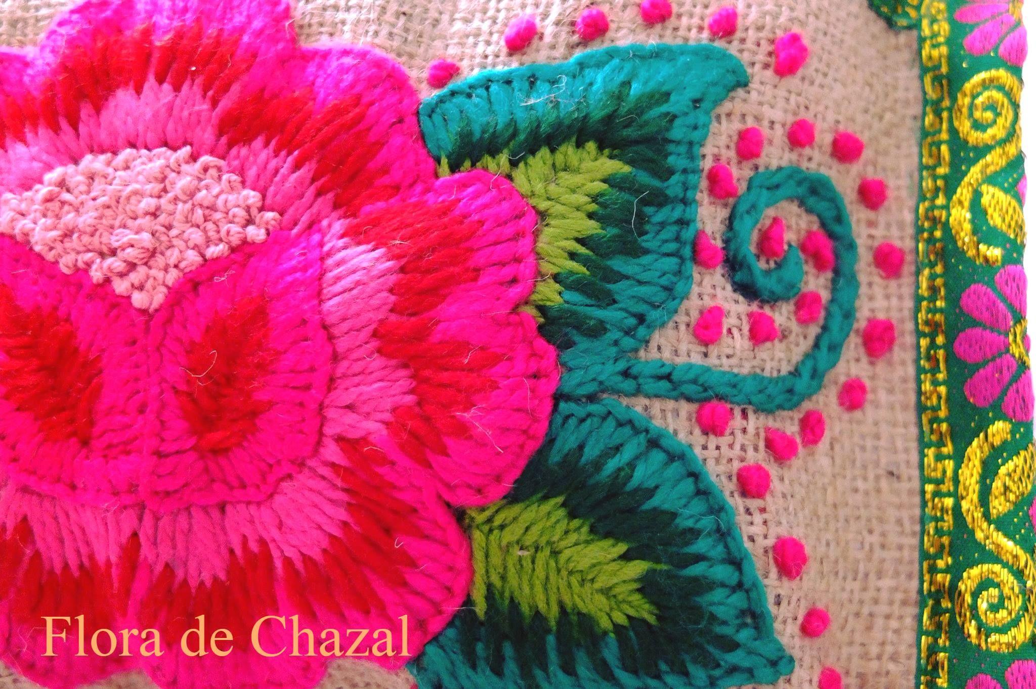 Flora de Chazal Bordados Andinos