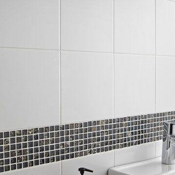 Faïence mur blanc, Basic l20 x L20 cm La raffarde 2016