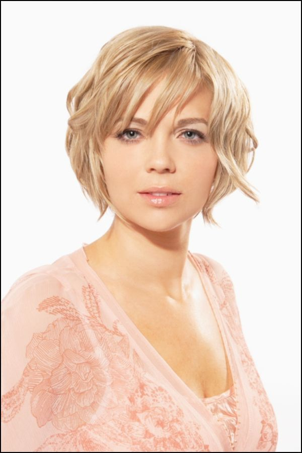 Short Layer Curly Hair Cuts For Round Face Short Hairstyles For