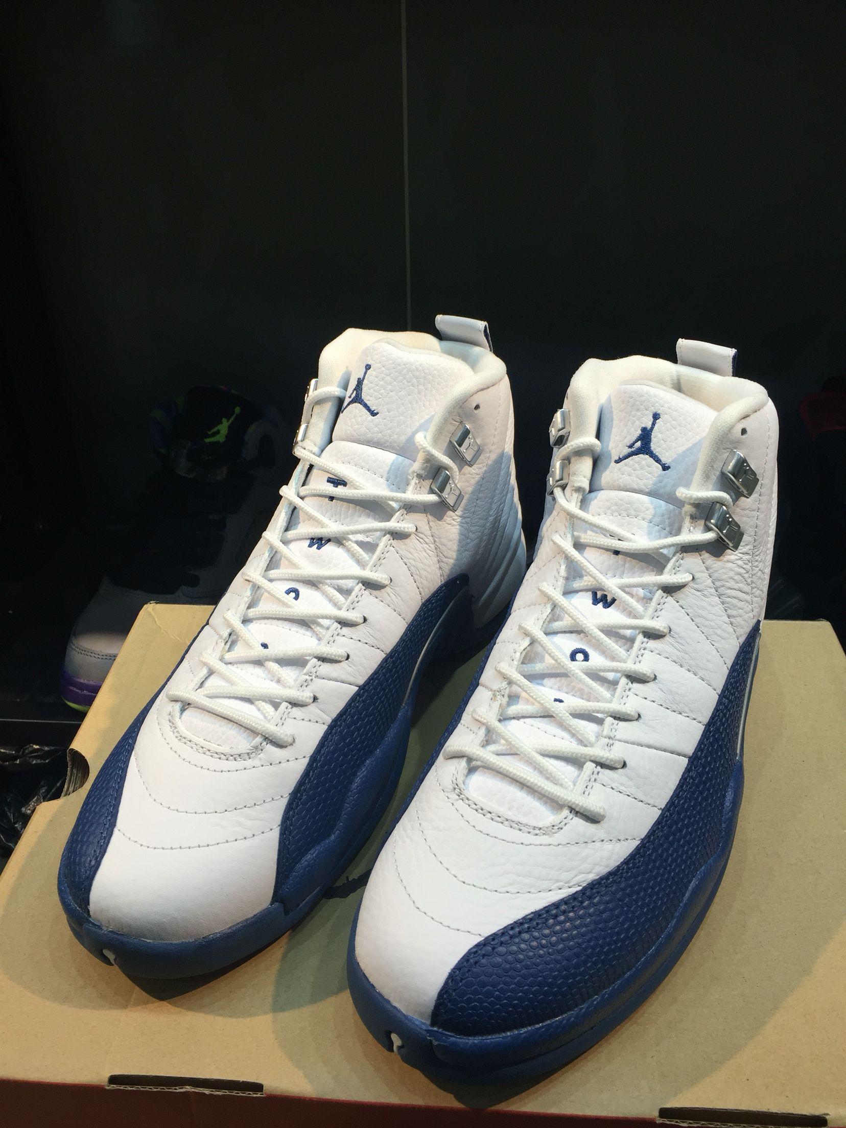 58040e2dd3fb30 Air Jordan 12 France blue ¥680 Air Jordan Shoes