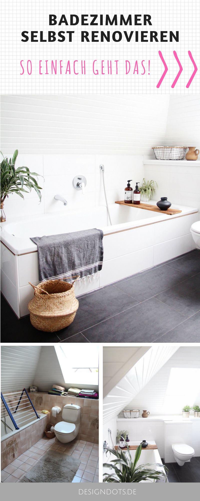 Badezimmer ideen klein grau badezimmer selbst renovieren vorhernachher  hygge and interiors