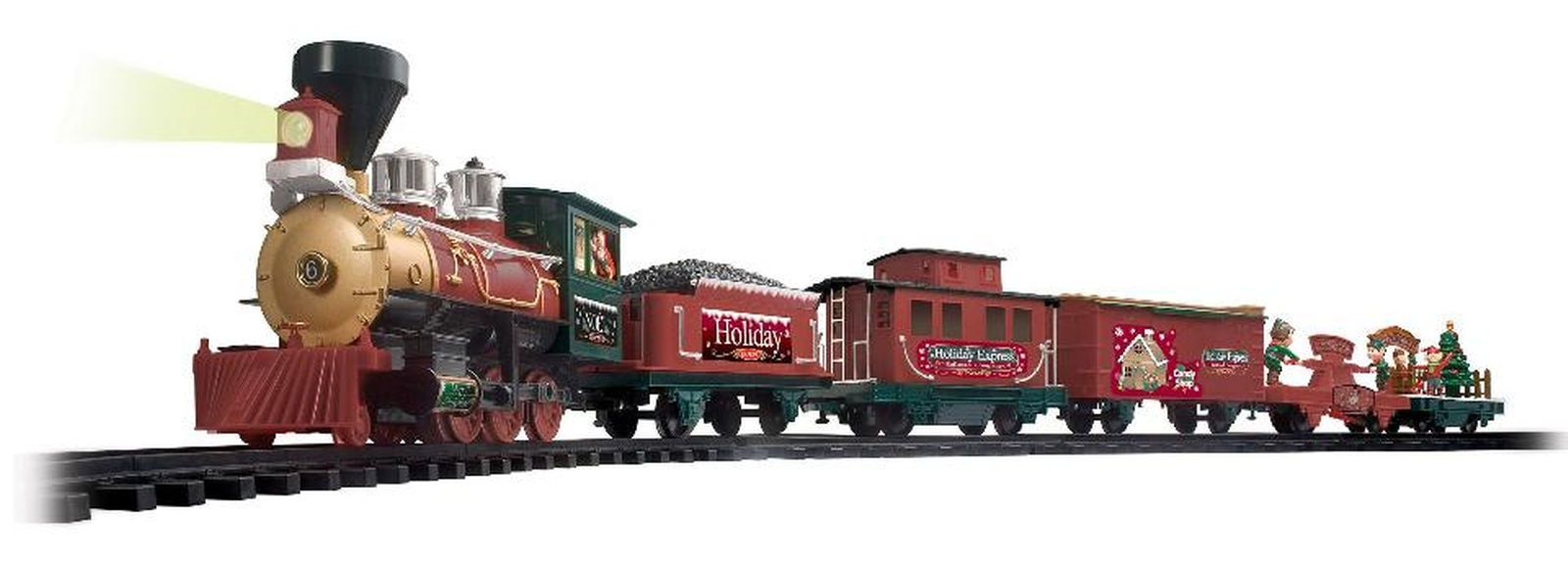 Wireless Remote Control North Pole Express Christmas Train Set ...