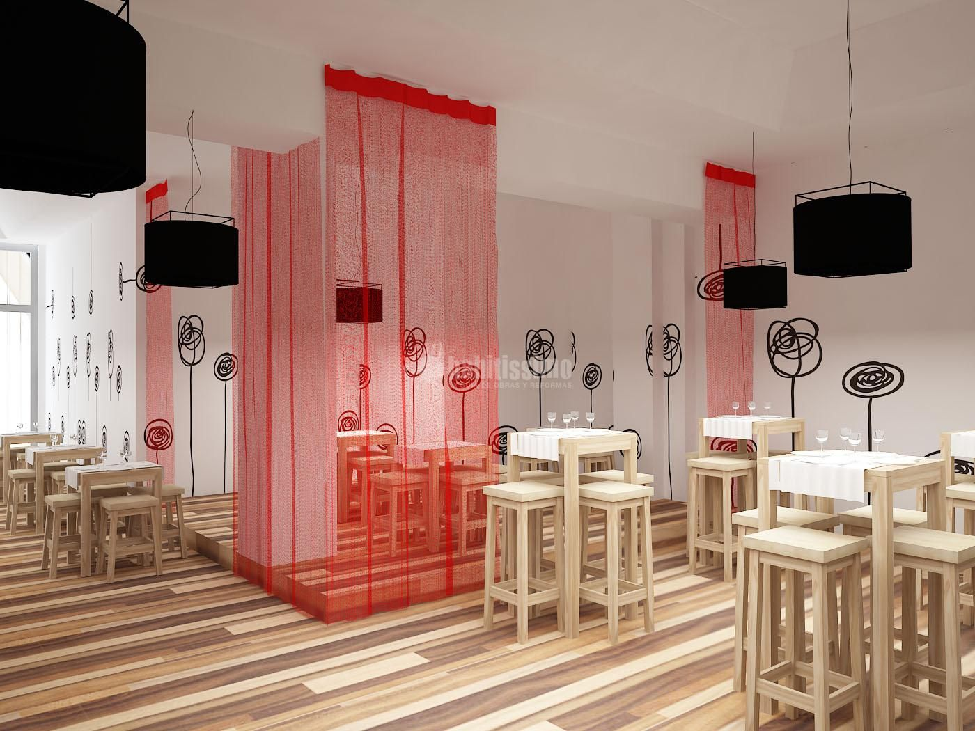 interiorismo, decoracion restaurante, hosteleria, cafeteria ...
