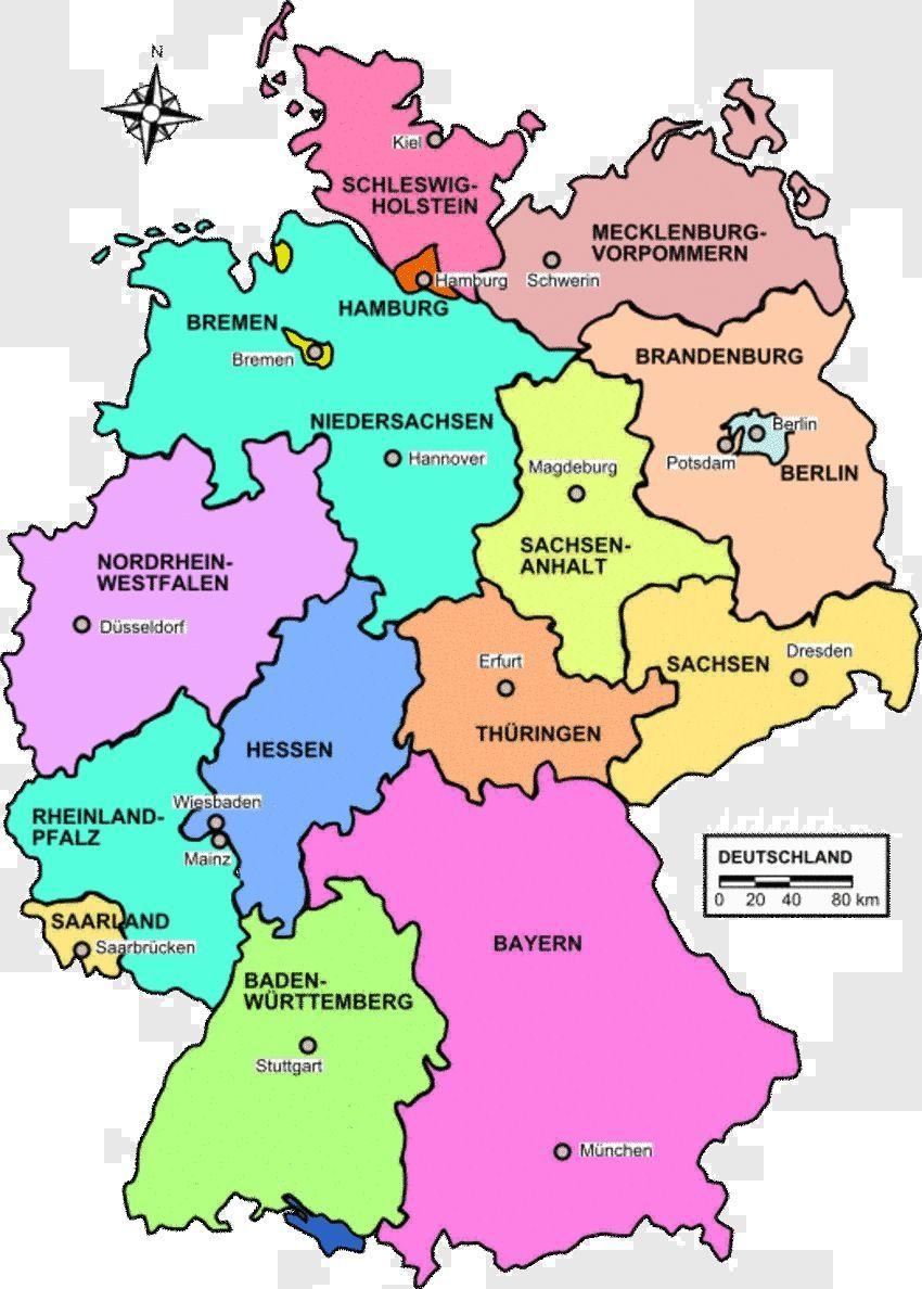 Die Lander Der Bundesrepublik Deutschland Bzw Die Deutschen