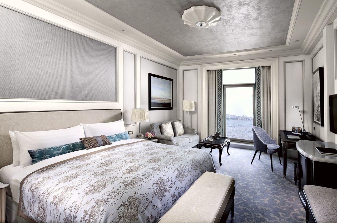 Top Ten Bedroom Designs Amusing Soft Hues And Elegant Style At Shangrila Bosphorus In #istanbul 2018