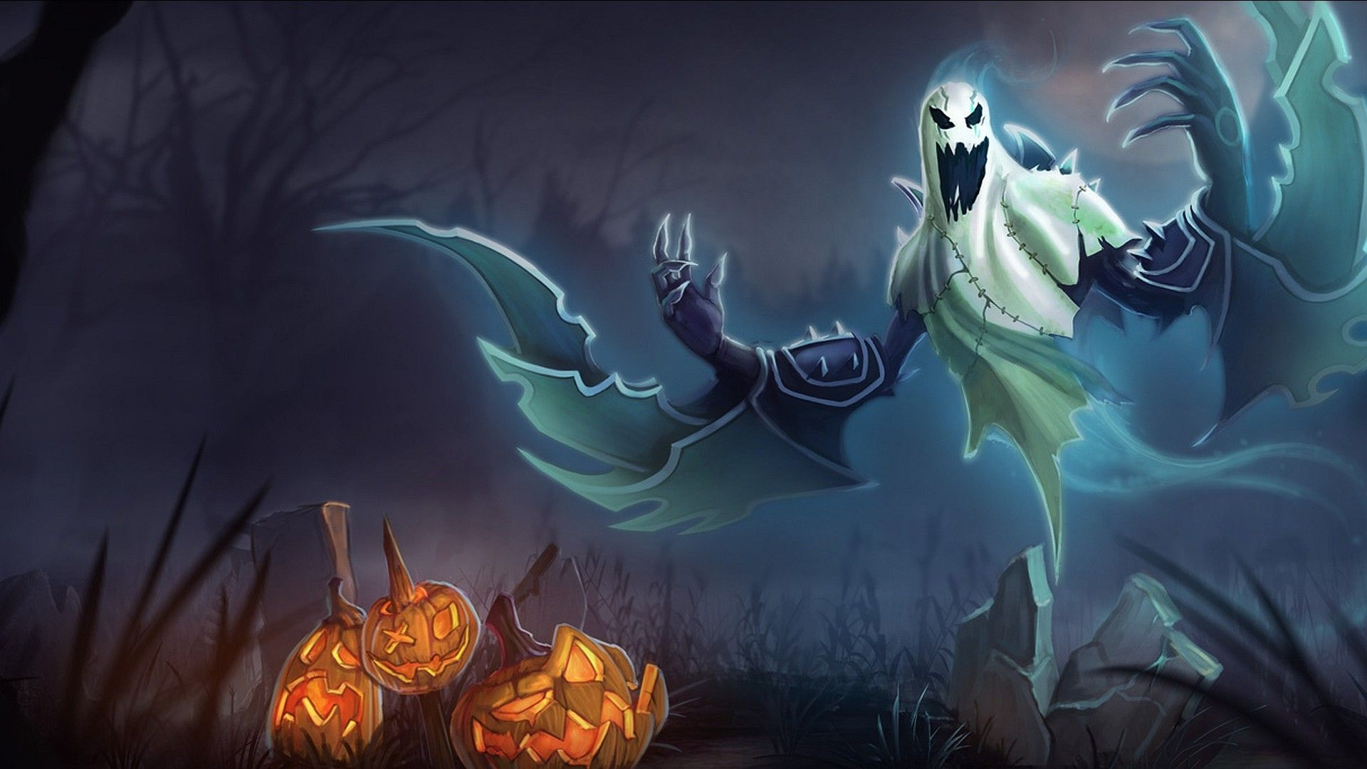 scary halloween ghost id 23671 wallphocom - Pictures Of Scary Halloween