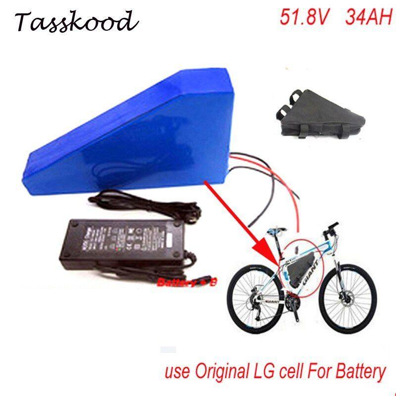 Best 52v 34ah Battery Triangle Style Electric Bike Battery 51 8v