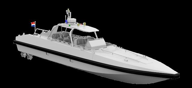 La Real Marina de Marruecos reforzará la seguridad en el Estrecho con lanchas rápidas Damen Interceptor 1503-noticia defensa.com
