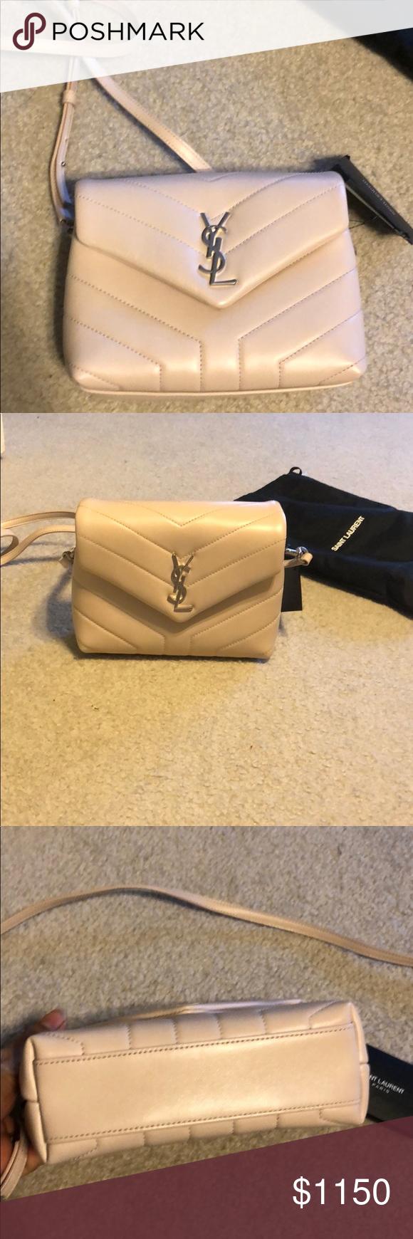 b8ba9bed YSL Saint Laurent Toy Lou Lou Light Pink bag Gorgeous ***brand new ...