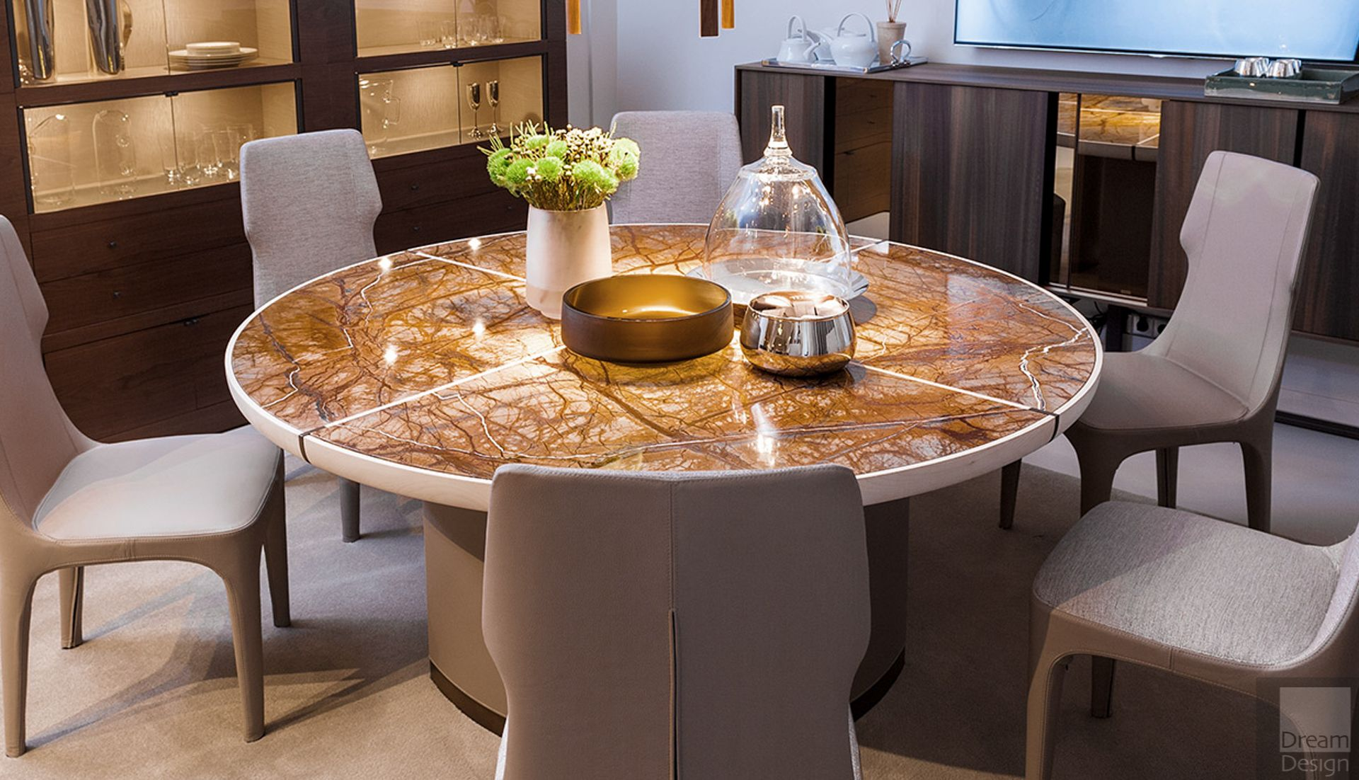 Gordon Round Table in 2020 Table, Furniture
