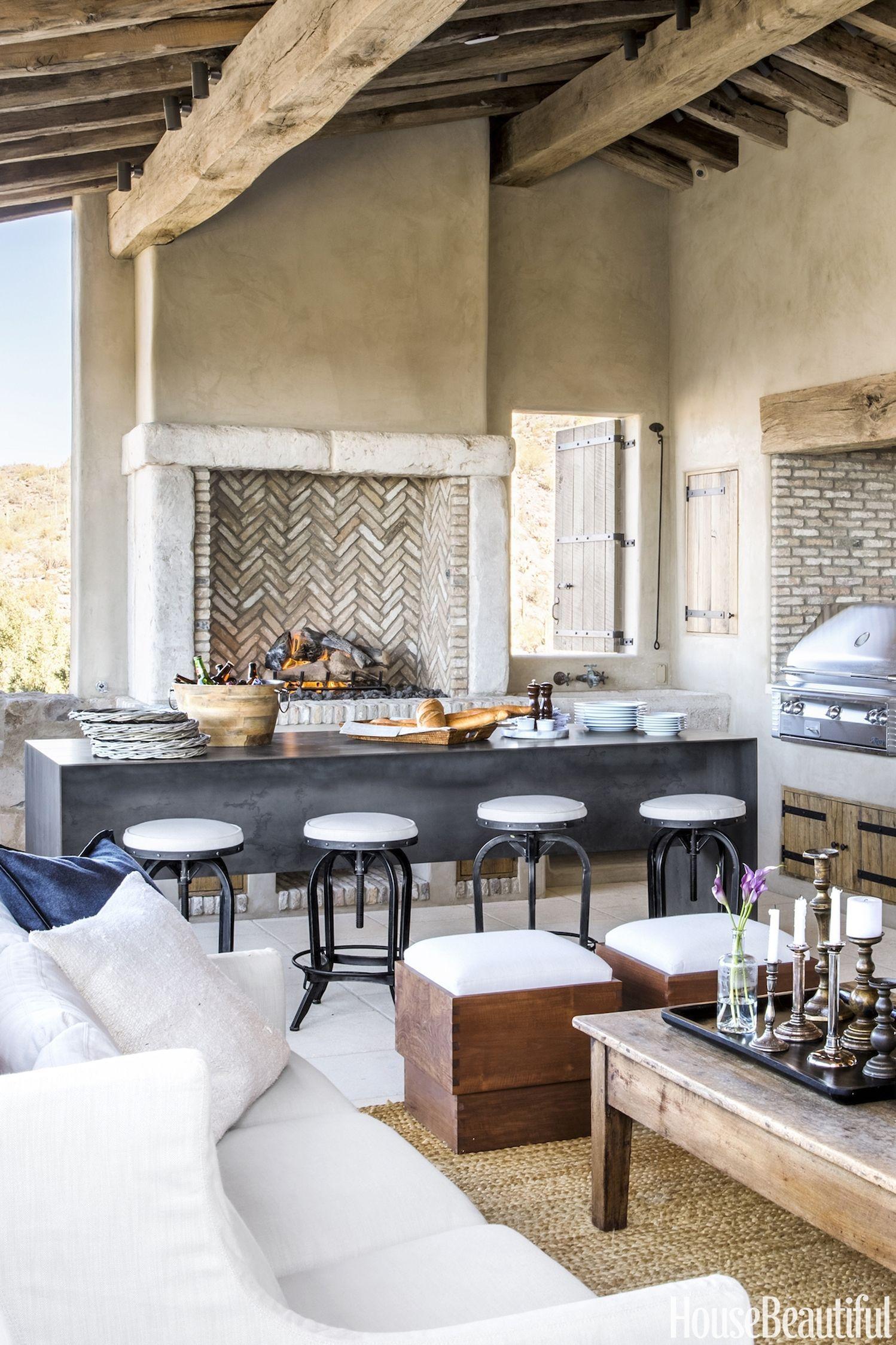 Provencal Inspired Living Kitchen Interior Interior Design Kitchen Outdoor Kitchen Design
