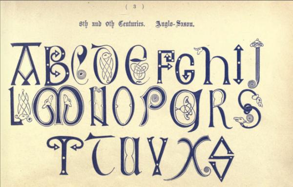 Exquisite Examples Of Ancient And Medieval Alphabets - DesignTAXI.com