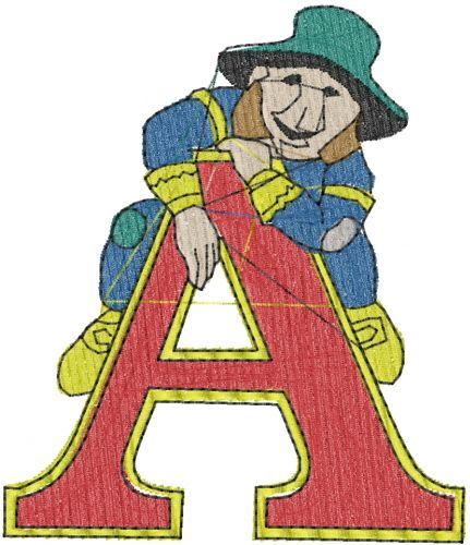 Man A Embroidery Design Annthegran Free Embroidery Designs