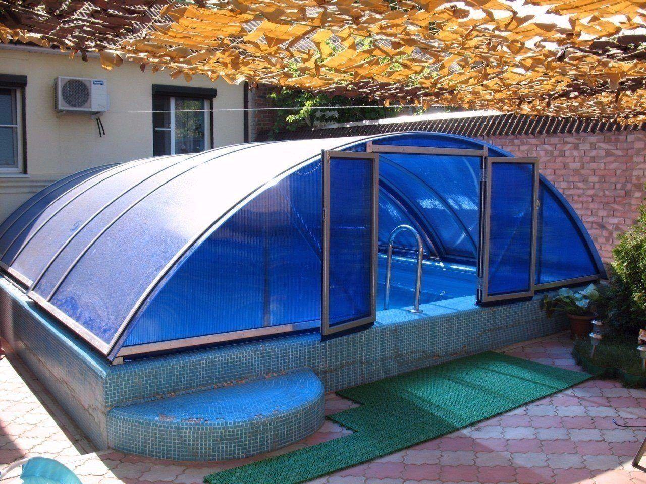 теплица под бассейн