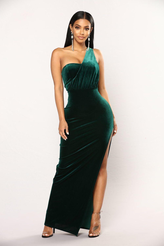 Arden velvet dress hunter green velvet dress velvet