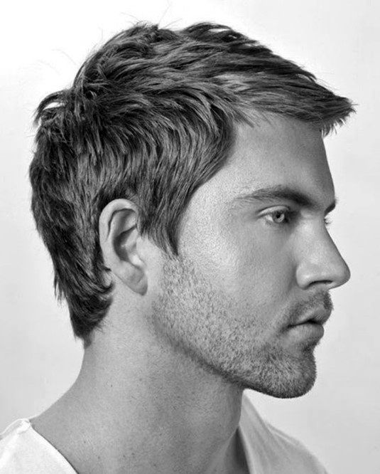 Short Haircuts For Fine Hair Men 24