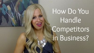 "This week I wanted to dish out the real deal about business competitors.  The thing is there is ALWAYS going to be someone who either does exactly what you do. Perhaps they have the same type of clients or they offer similar products?    I know that the thought has crossed your mind on if you should even do what you do when ""so and so"" is already doing it? How do I compete with that?"