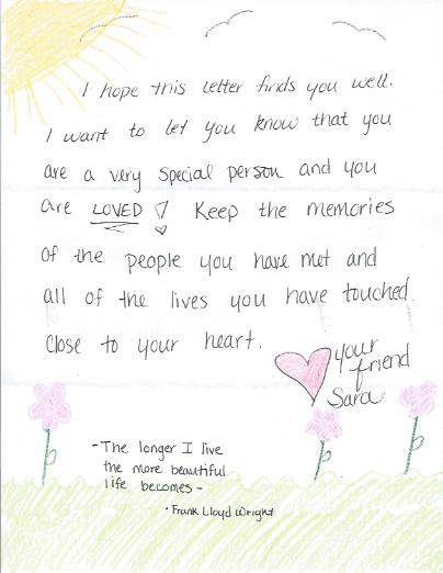 Letters Of Love Love For The Elderly Letter Of Encouragement Love Letters Encouragement Cards