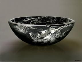 Black Marble Bowl Basin Marble Bowl Black Marble Fitted Furniture