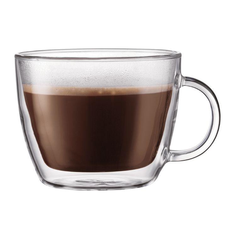 Bodum BISTRO mugs, 2 pcs, double wall, 0.45 l, 15 oz. $40. Coffee ...