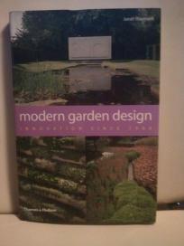 Modern Garden Design-innovation since 1900