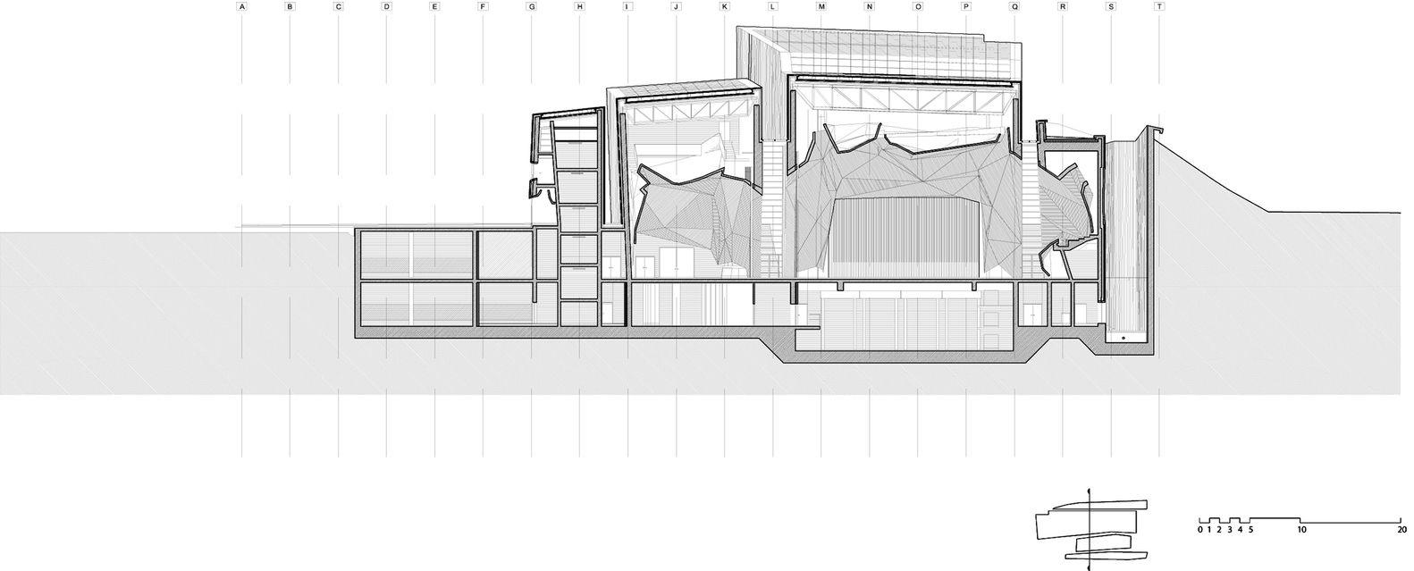 Gallery Of Ckk Jordanki Fernando Menis 13 Architectural Section Architecture Firm Amazing Architecture