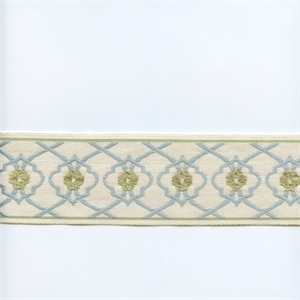 Ea271 08 Light Blue Chartreuse Green Tape Trim With Images Light Blue Curtains Green Curtains Discount Fabric Online