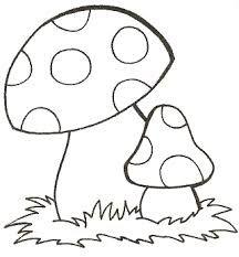 Dessin a colorier champignon recherche google sesobel - Dessiner un champignon ...