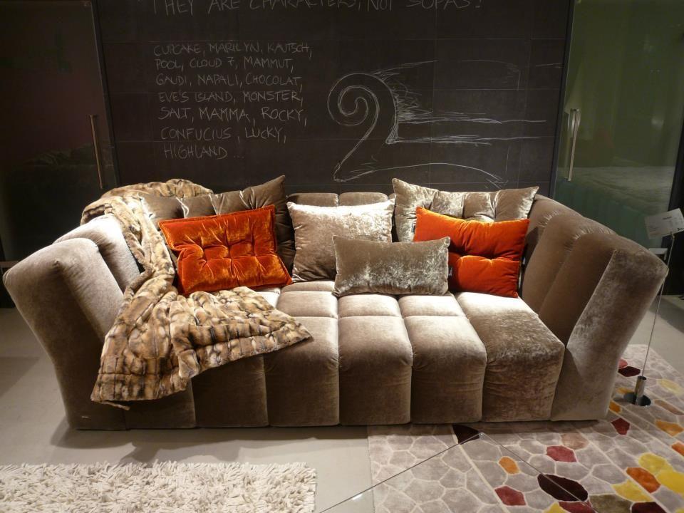 CHOCOLAT Sofa by BRETZ | CHOCOLAT | Pinterest | Couch sofa, Living ...