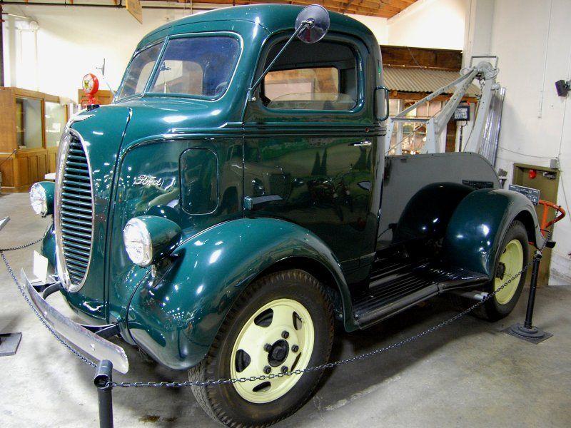 Cabover trucks california auto museum sacramento