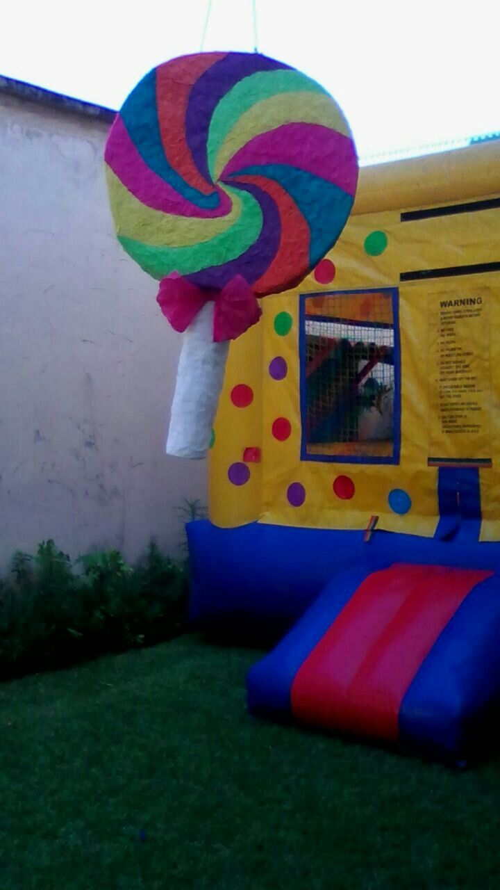 Candyland piñata | Candy Land Birthday Party | Pinterest | Piñatas