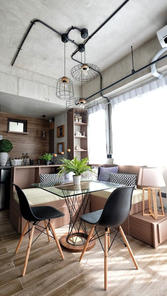 Perfect 17 Captivating Industrial Dining Room Designs Youu0027ll Go Crazy For Amazing Pictures