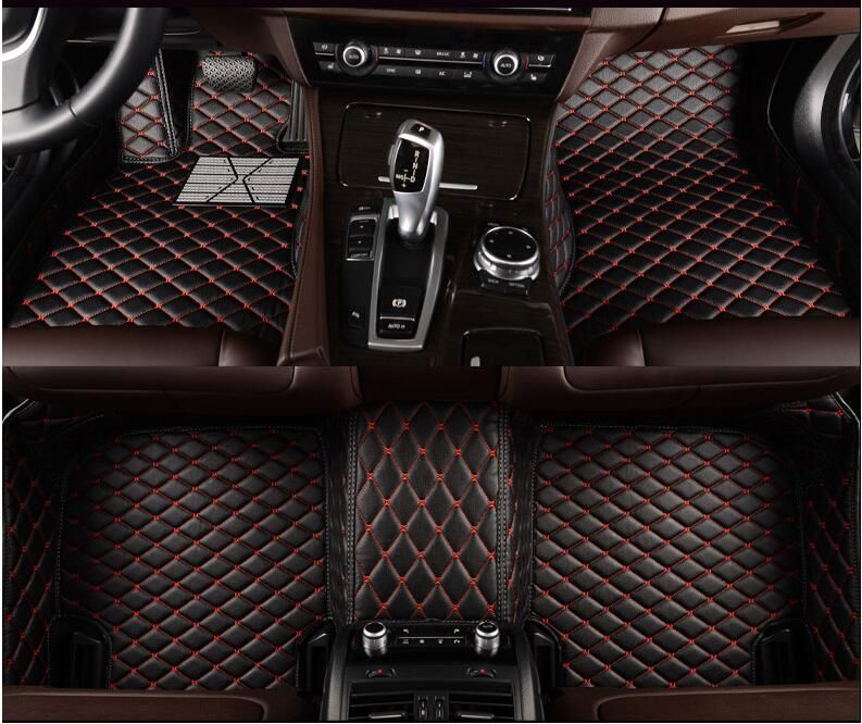 3D Luxury Slush Floor Mats Foot Pad Mat For Mercedes Benz