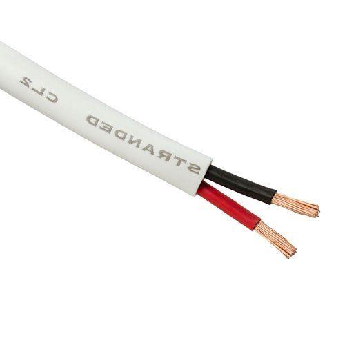 16-Gauge 2-Conductor In-Wall Loud Speaker Cable (100-Foot Spool ...