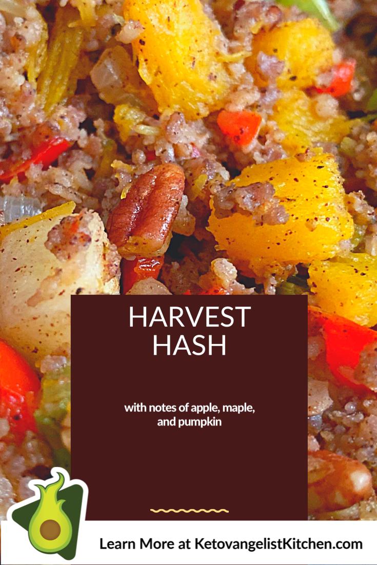 Harvest Hash Recipe Keto Holiday Recipes Sage Sausage Keto Stuffing