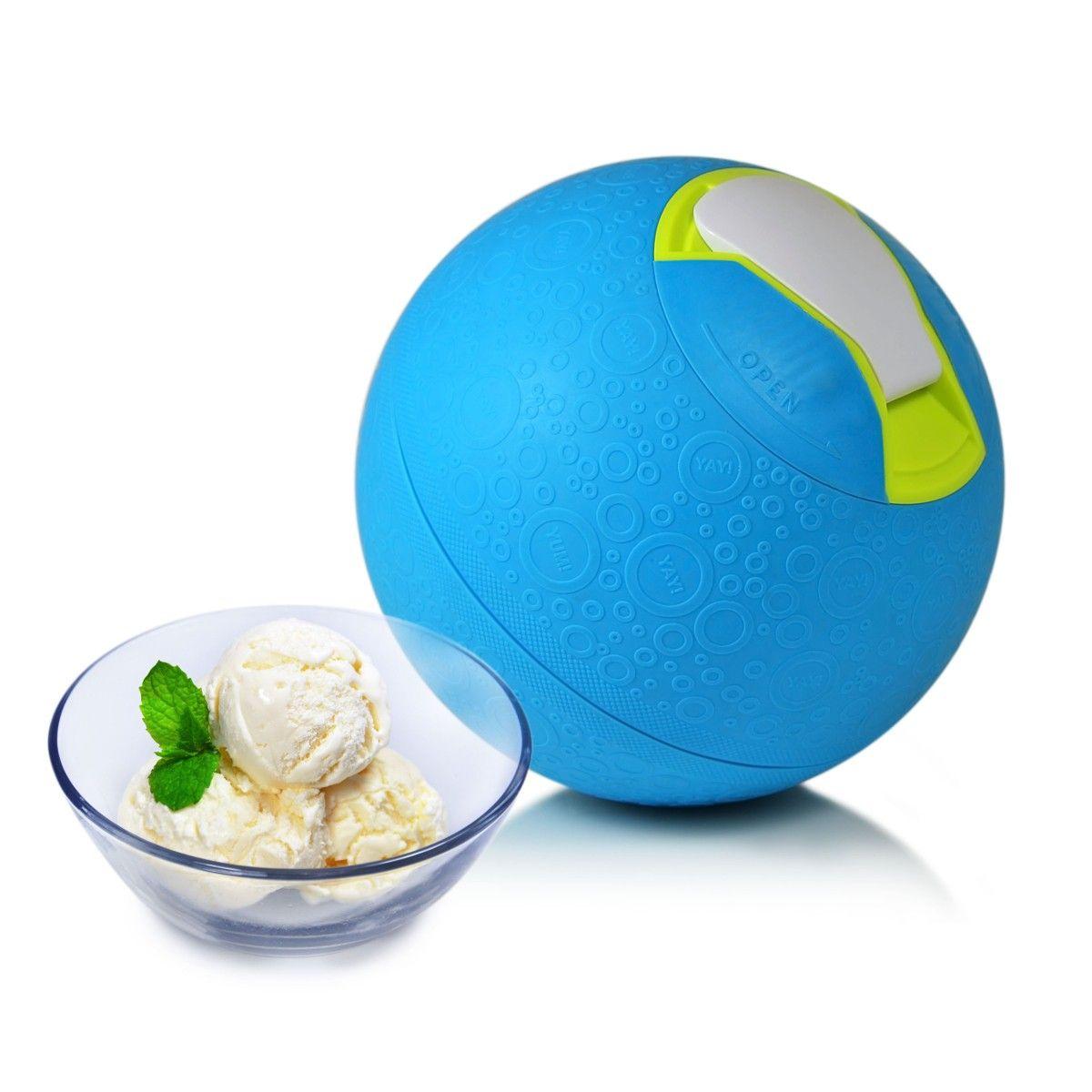 Der Eiscreme Ball Eis Spielend Selber Machen Eismaschine
