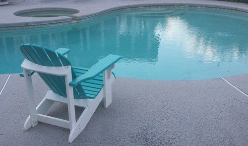 Cheap Prices Theoutdoorchair Com Pool Two Tone Polywood