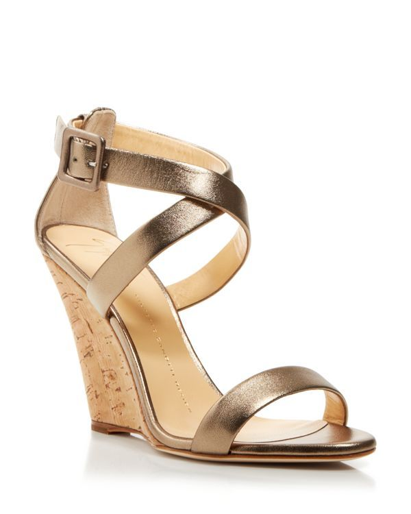 giuseppe zanotti open toe platform wedge sandals coline cork rh za pinterest com