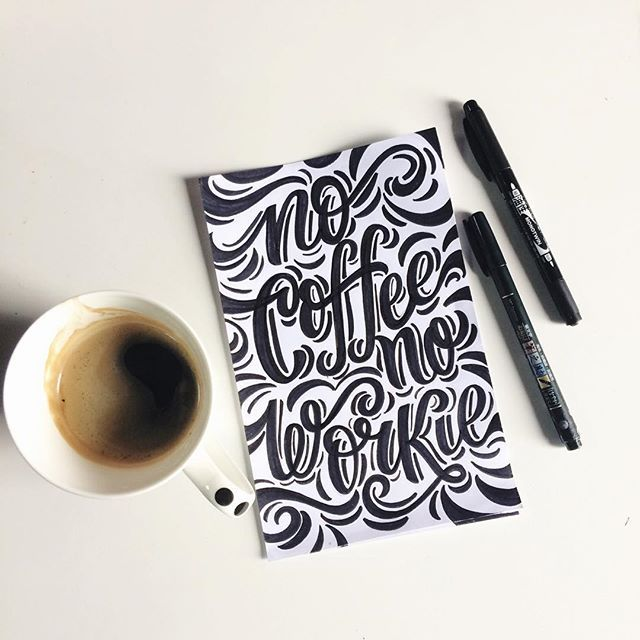 No Coffee No Workie!☕️✨ @magicmaia