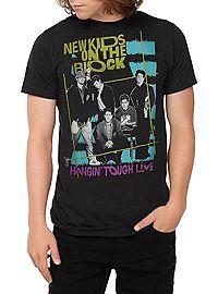 477fb38b HOTTOPIC.COM - New Kids On The Block Hangin' Tough Live T-Shirt ...