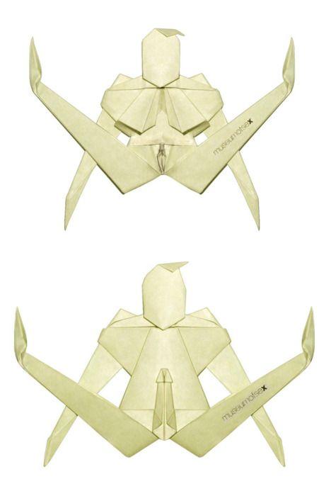 Секс виртуальный через оригами