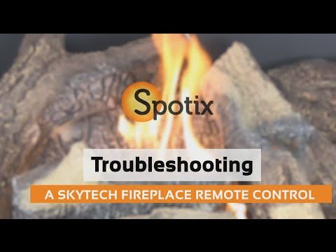 Troubleshooting A Skytech Fireplace Remote Control Remote