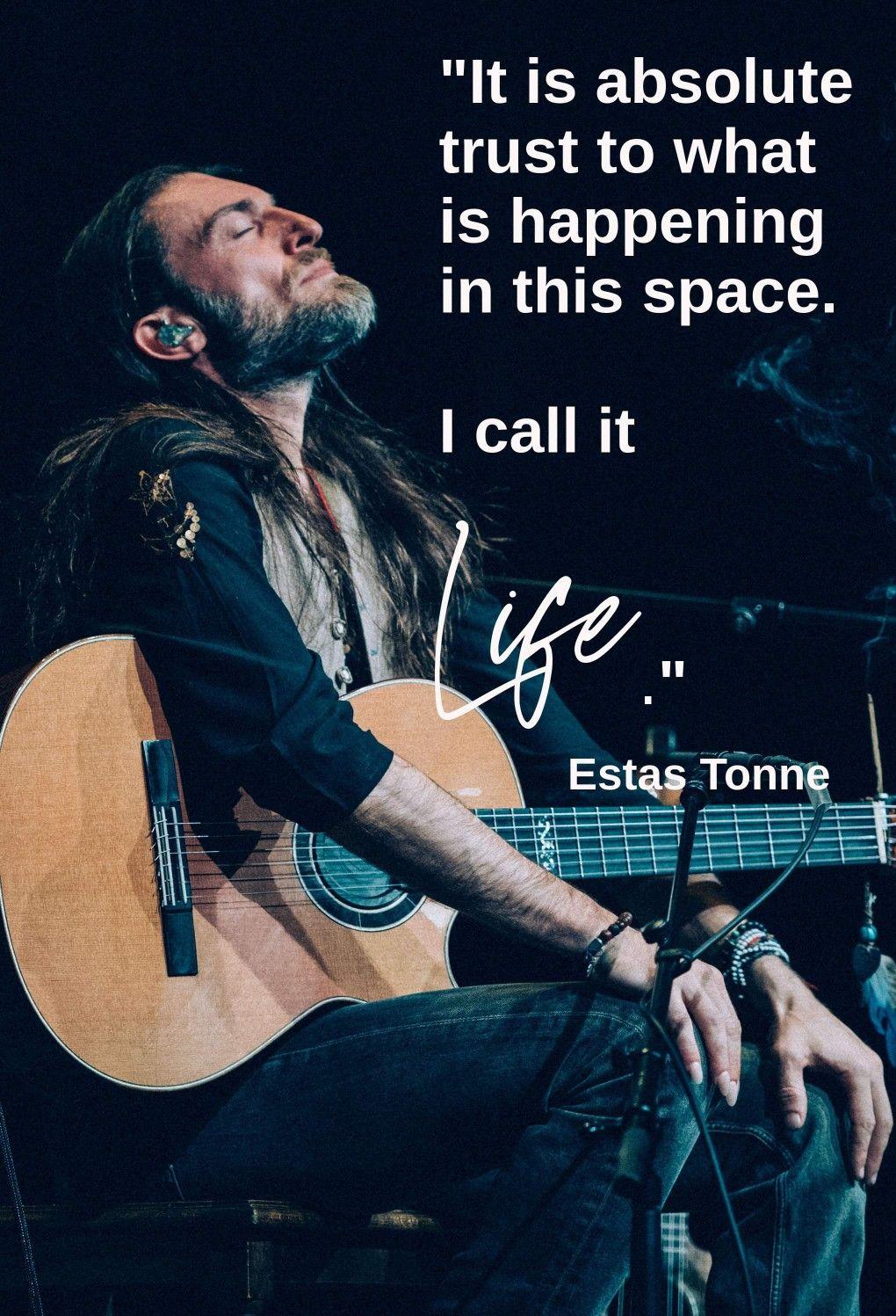 Estas Tonne quote  Photo by Geri Dagys  #estastonne #guitar