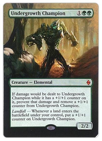 MTG Magic Mythic Rare  ~NEAR MINT~ Battle for Zendikar Greenwarden of Murasa