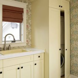 laundry room with tall corner cabinet design pictures remodel