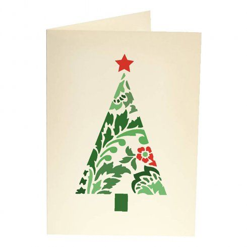 Damask Christmas Tree Card Stencil Template Holiday Card Stencil Templates For Handmade C Christmas Cards Handmade Christmas Card Template Christmas Stencils
